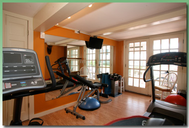 Greenleaf Inn at Boothbay Harbor, Maine Fitness Center